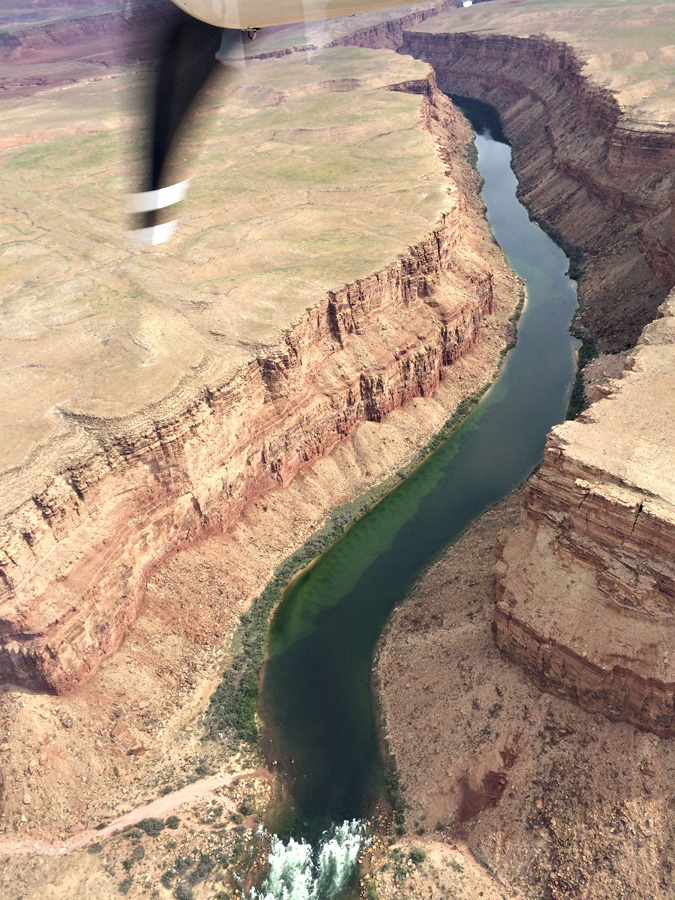 Grand Canyon flight over Colorado River
