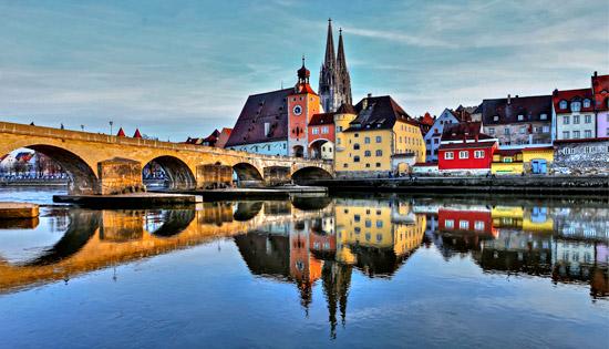 Regensburg - Old Stone Bridge